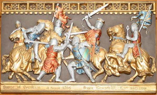Battle of Evesham 4 August 1265 Prince Edward Earl Warrenne