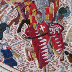 Tapestry of the Battle of Lewes